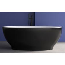 Ванна акриловая отдельностоящая ABBER AB9207B 165х80 см