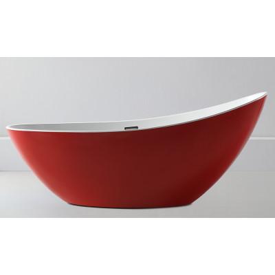 Ванна акриловая отдельностоящая ABBER AB9233R 184х79 см