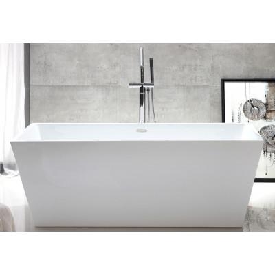 Ванна акриловая отдельностоящая ABBER AB9224-1.5 150х80 см
