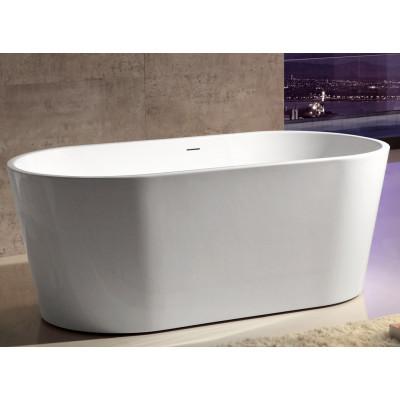 Ванна акриловая отдельностоящая ABBER AB9203-1.5 150х80 см