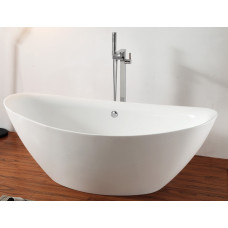 Ванна акриловая отдельностоящая ABBER AB9248 180х87 см