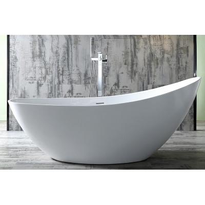 Ванна акриловая отдельностоящая ABBER AB9233 184х79 см