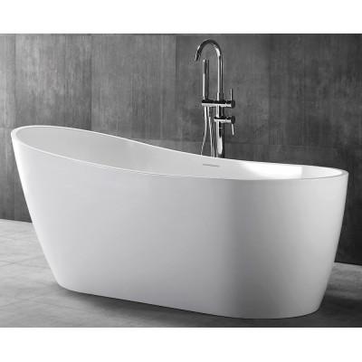 Ванна акриловая отдельностоящая ABBER AB9353-1.3 130х70 см