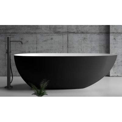 Ванна акриловая отдельностоящая ABBER AB9211B 170х80 см