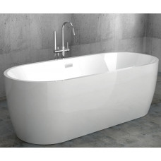 Ванна акриловая отдельностоящая ABBER AB9219 175.5х80 см