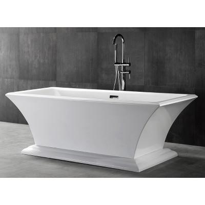 Ванна акриловая отдельностоящая ABBER AB9238 170х80 см