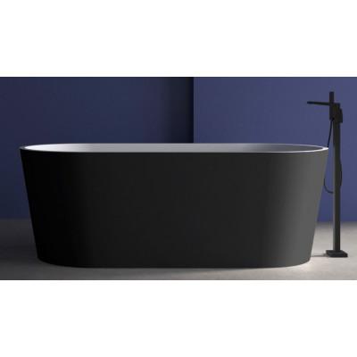 Ванна акриловая отдельностоящая ABBER AB9209B 170х80 см
