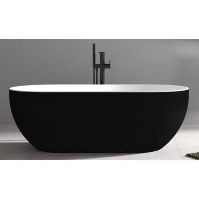Ванна акриловая отдельностоящая ABBER AB9241MB 172х79 см