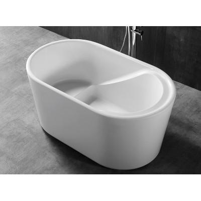 Ванна акриловая отдельностоящая ABBER AB9277 130х75 см