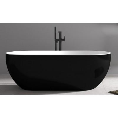 Ванна акриловая отдельностоящая ABBER AB9241B 172х79 см