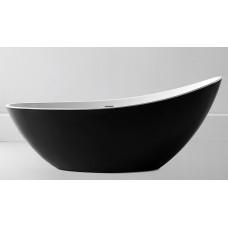 Ванна акриловая отдельностоящая ABBER AB9233B 184х79 см