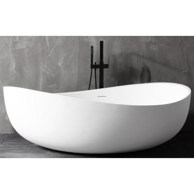 Ванна акриловая отдельностоящая ABBER AB9239 180х110 см