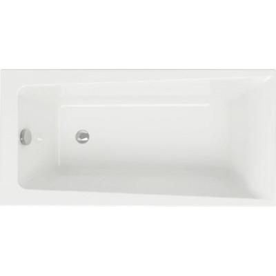 Ванна акриловая прямоугольная Cersanit Lorena 140х70 см