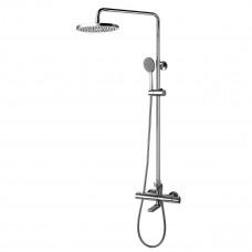 Душевая система для ванны с термостатом Lemark 78 YETI