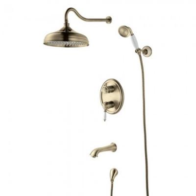 Душевая система для ванны встраиваемая Lemark Villa LM4822B