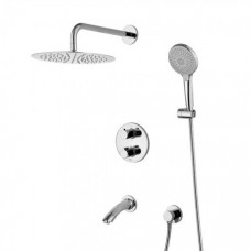 Душевая система для ванны встраиваемая Lemark Yeti LM7822С