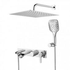 Душевая система для ванны встраиваемая Lemark Atlantiss LM3225C