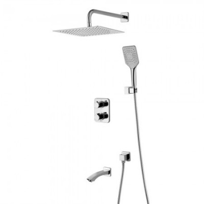 Душевая система для ванны встраиваемая Lemark Yeti LM7842С