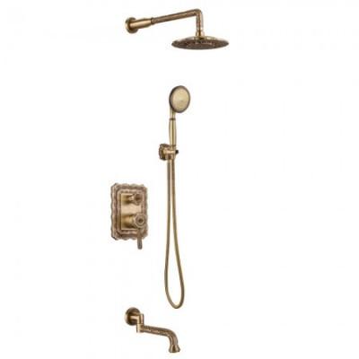 Душевая система для ванны встраиваемая Lemark Jasmine LM6622B