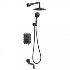 Душевая система для ванны встраиваемая Lemark Jasmine LM6622ORB
