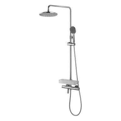 Душевая система для ванны с термостатом Lemark 70 TROPIC