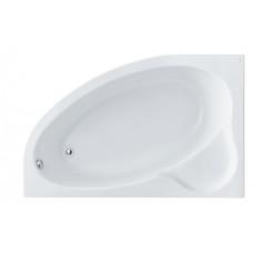 Ванна акриловая асимметричная Santek Edera 170х100 см, левая