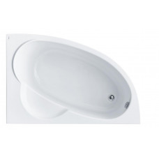 Ванна акриловая асимметричная Santek Sri Lanka 150х100 см, правая