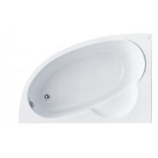 Ванна акриловая асимметричная Santek Sri Lanka 150х100 см, левая