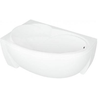 Ванна акриловая асимметричная Aquatek Бетта 170х97 см , левая
