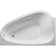 Ванна акриловая асимметричная 1Marka LOVE 185x135 см