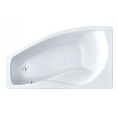 Ванна акриловая асимметричная Santek Mallorca 160х95 см, левая