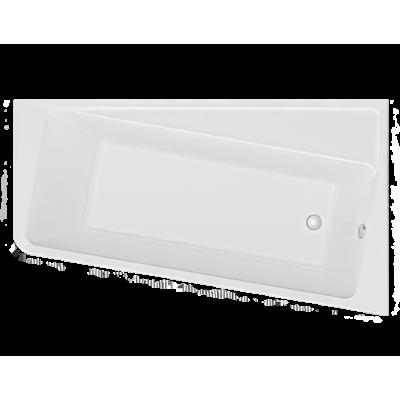 Ванна акриловая асимметричная 1Marka DIRECT 170x100 см