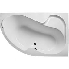 Ванна акриловая асимметричная 1Marka AURA 160x105 см