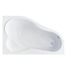 Ванна акриловая асимметричная Santek Ibiza 160х100 см, правая
