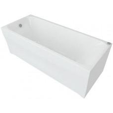 Ванна акриловая прямоугольная Aquatek Альфа 140x70 см