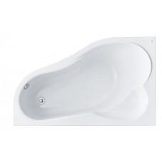 Ванна акриловая асимметричная Santek Ibiza 160х100 см, левая