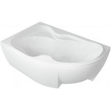 Ванна акриловая асимметричная Aquatek Вега 170х105 см , левая