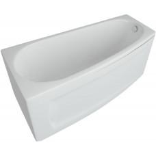 Ванна акриловая асимметричная Aquatek Пандора 160х75 см , левая