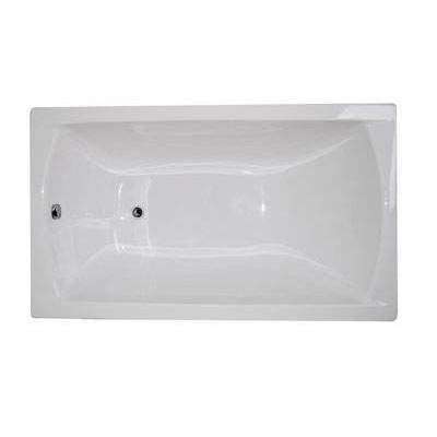 Ванна акриловая прямоугольная 1Marka MODERN 120x70 см