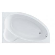 Ванна акриловая асимметричная Santek Edera 170х100 см, правая