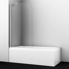 Шторка на ванну WasserKRAFT Leine 35P01-80 Fixed 80 см