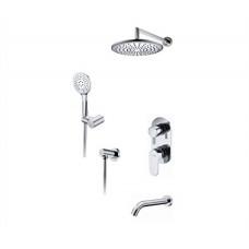 Душевая система для ванны WasserKRAFT A175819