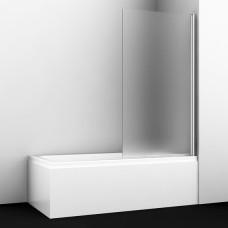 Шторка на ванну WasserKRAFT Berkel 48P01-80R Matt glass 80 см