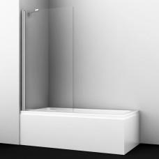 Шторка на ванну WasserKRAFT Berkel 48P01-80 Fixed 80 см