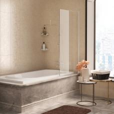 Шторка на ванну WasserKRAFT Berkel 48P01-80WHITE 80 см