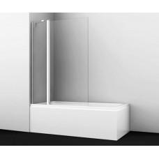 Шторка на ванну WasserKRAFT Berkel 48P02-110 Fixed 110(70+40) см