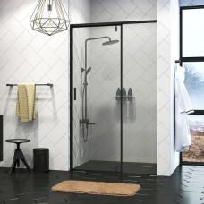 Дверь в нишу WasserKRAFT Elbe 74P04 90 см