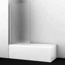 Шторка на ванну WasserKRAFT Berkel 48P01-80L Matt glass 80 см