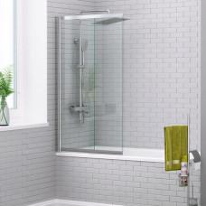 Шторка на ванну WasserKRAFT Main 41S02-80 WasserSchutz 80 см