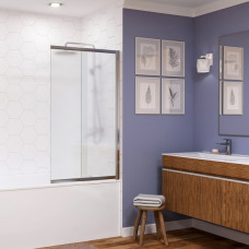 Шторка на ванну WasserKRAFT Main 41S02-100R Matt glass 100 см